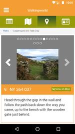 Walkingworld app